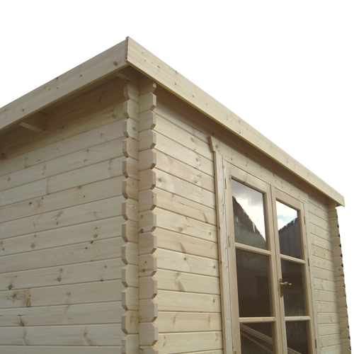Log Cabin Storage Shed